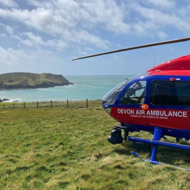 Devon Air Ambulance journeys towards sustainability