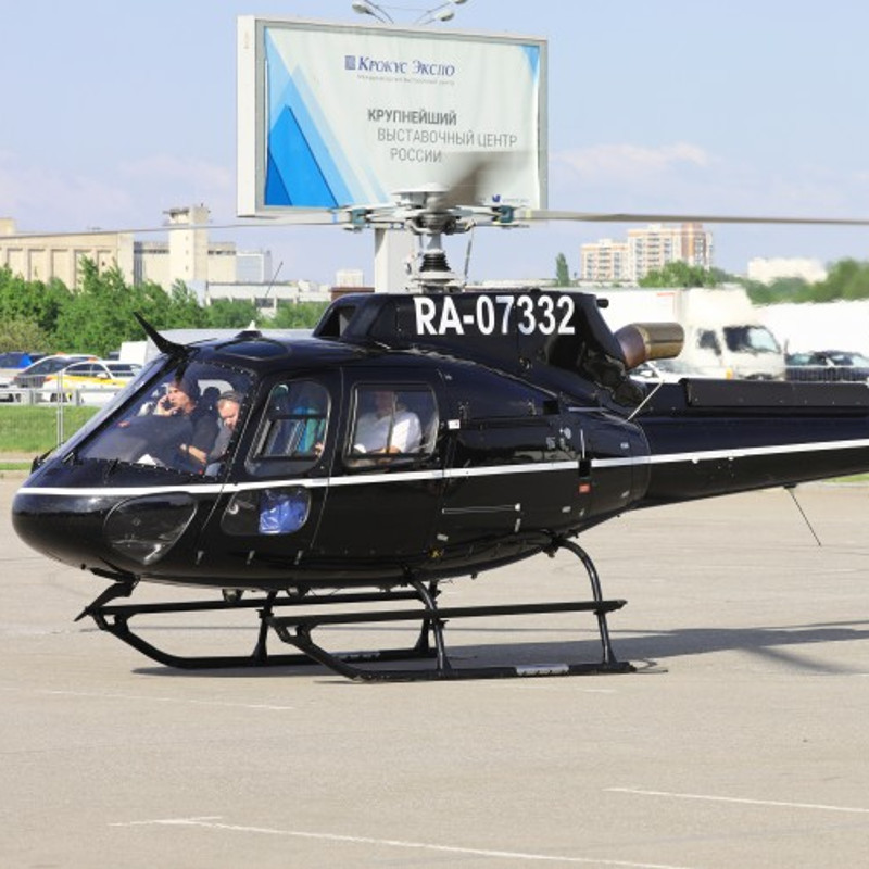 Airbus had H125 at HeliRussia2021