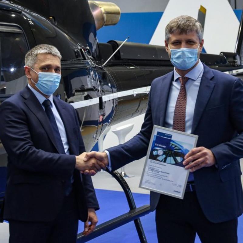 UTair-Engineering received Airbus approval certificate