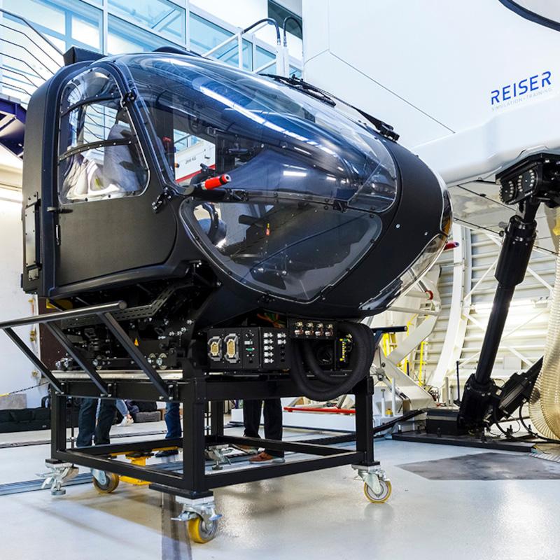 Reiser H135 Full Flight Simulator approved by EASA at Level D