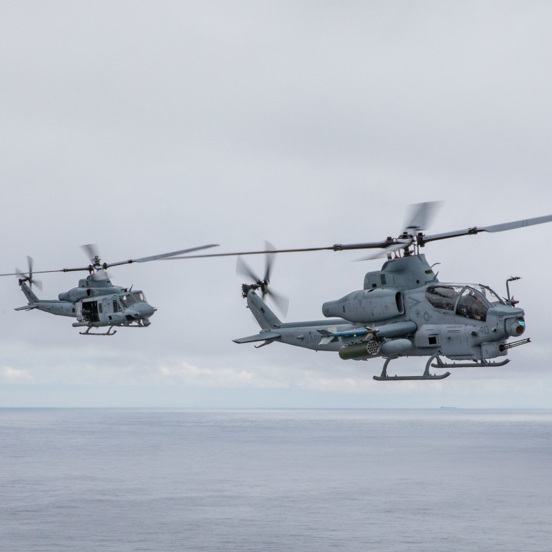 BellAH-1Z and UH-1Y reach 400K hours for combined fleet