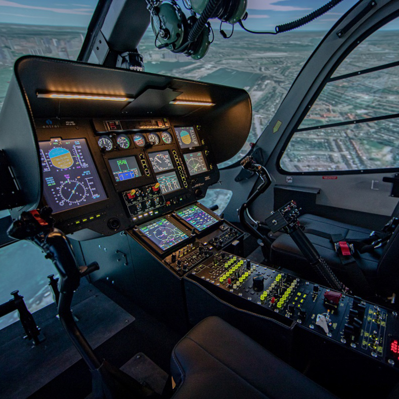 World Aviation purchased an H11 / H135 FNPT II MCC simulator