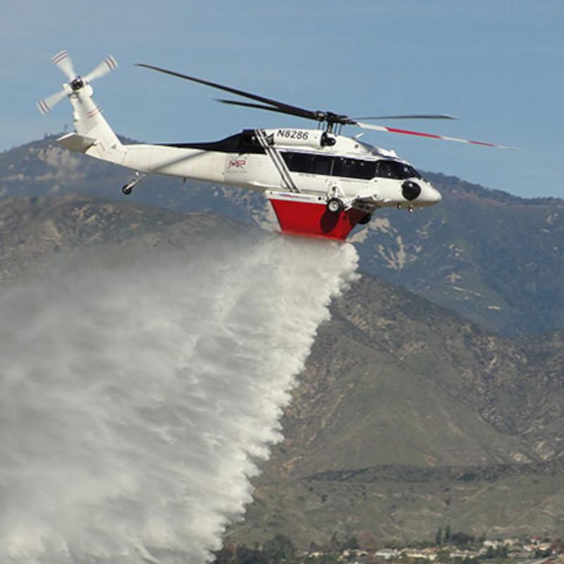 Helitak UH60 Black Hawk Fire Tank Receives FAA STC