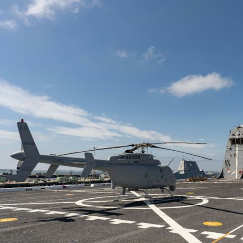 Northrop Grumman MQ-8C Fire Scout Completes Successful Fit Check