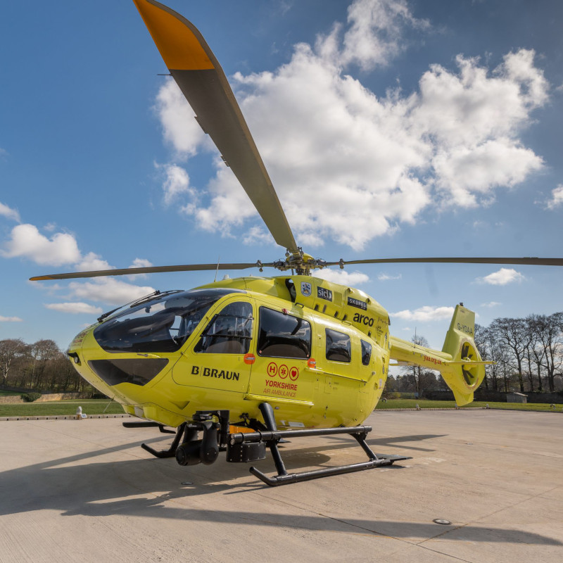 Yorkshire Air Ambulance reports on 12 months of COVID operations