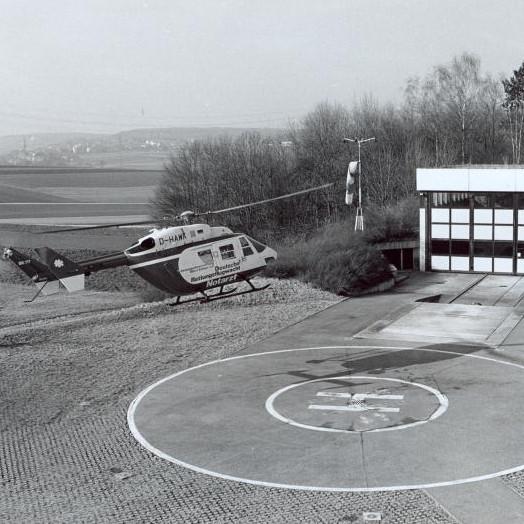 "German EMS base ""Christoph 41"" marks 35 years at Leonberg"