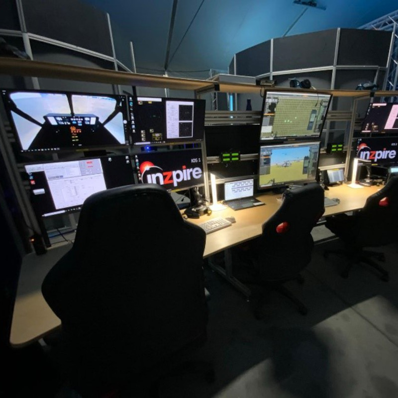 Inzpire mission device installed at EDA Helicopter Training Centre