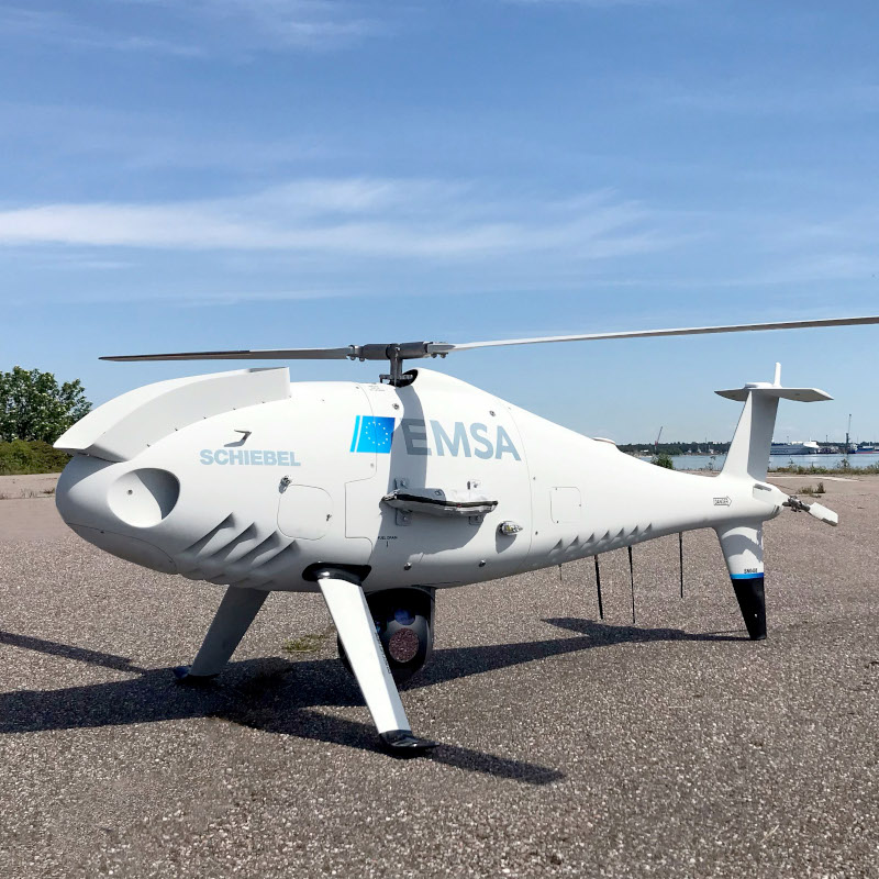 Schiebel Camcopter® S-100 Supports Finnish, Estonian and Swedish Coast Guard