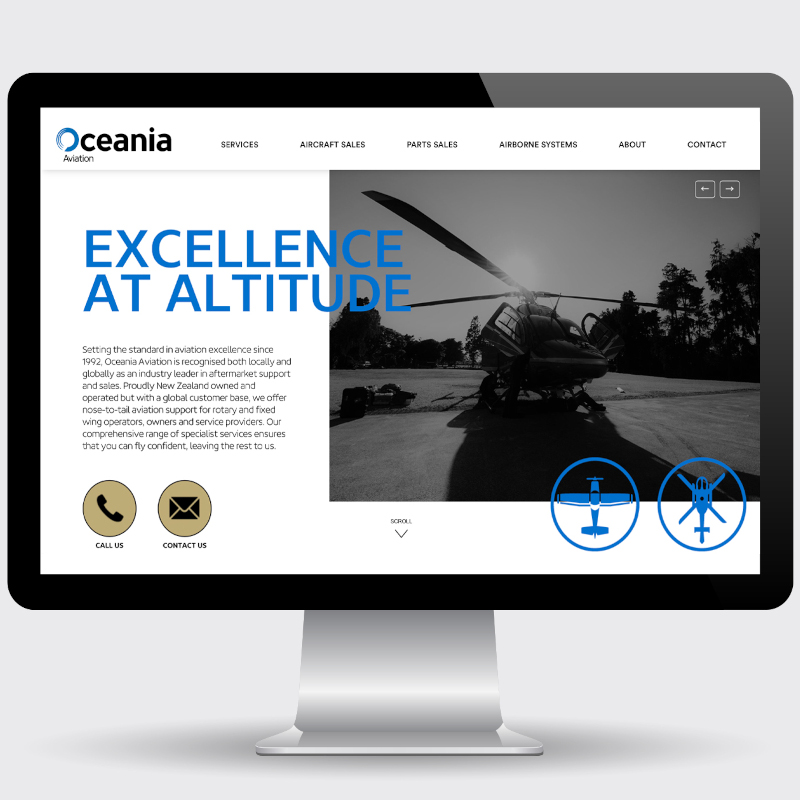 Oceania Aviation Launches New Website
