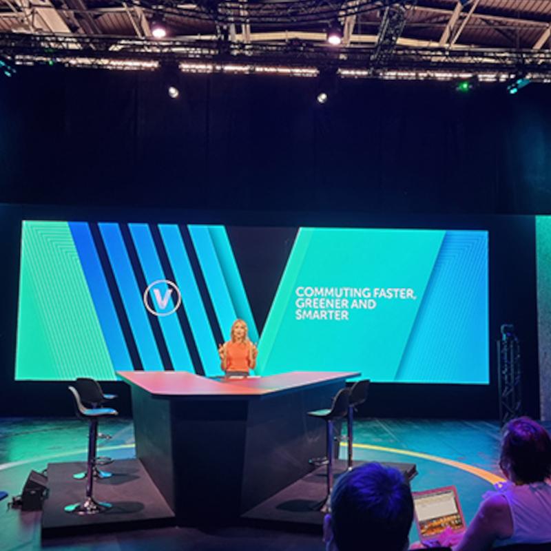 EHang CEO shares company vision at Paris conference