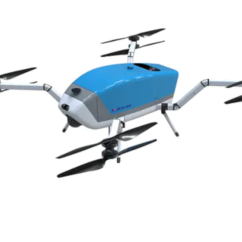 Korean Air to Support First Responders with Hybrid Drones