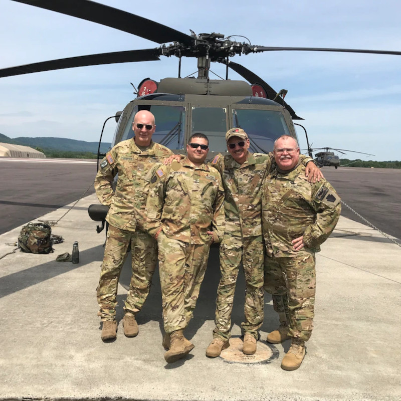 Longest serving Pa. National Guard member to retire