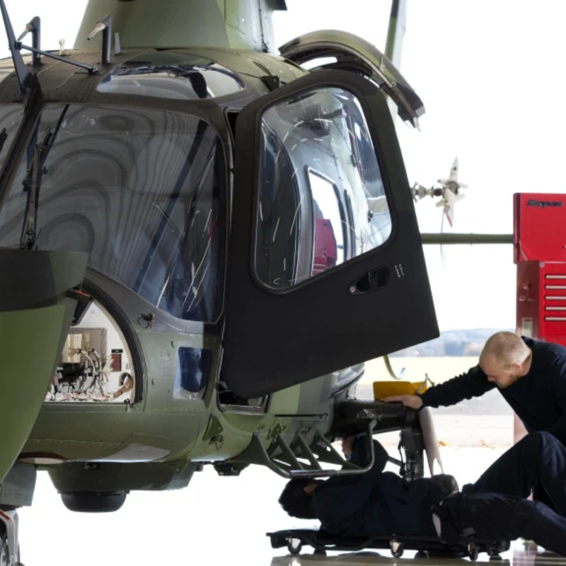 Saab extends Swedish AW109LUH MRO contract