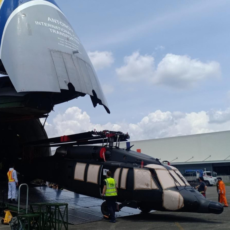 Five S70i Black Hawks delivered to Philippines Air Force