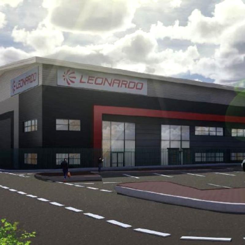 Leonardo breaks ground on new UK helicopters logistics hub