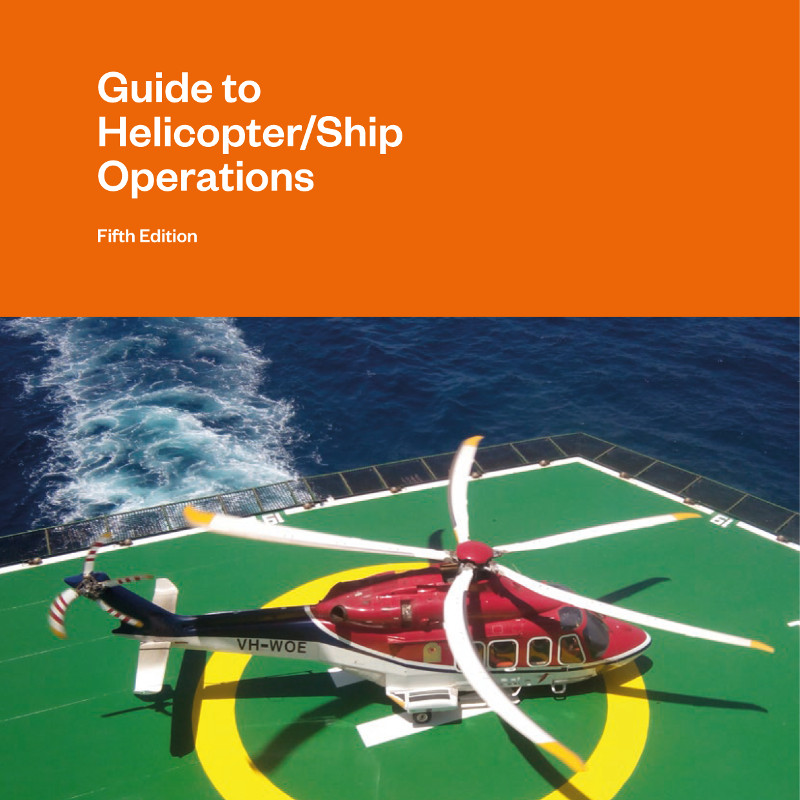 International Chamber of Shipping updates helicopter ops guide