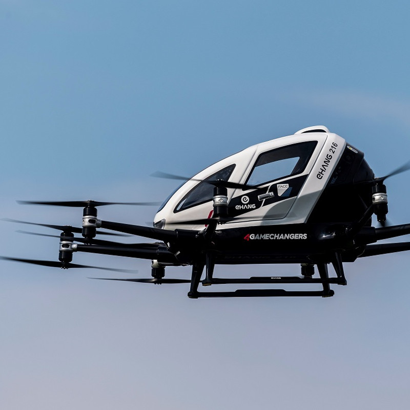 EHang continues flying COVID operations in Guangzhou City