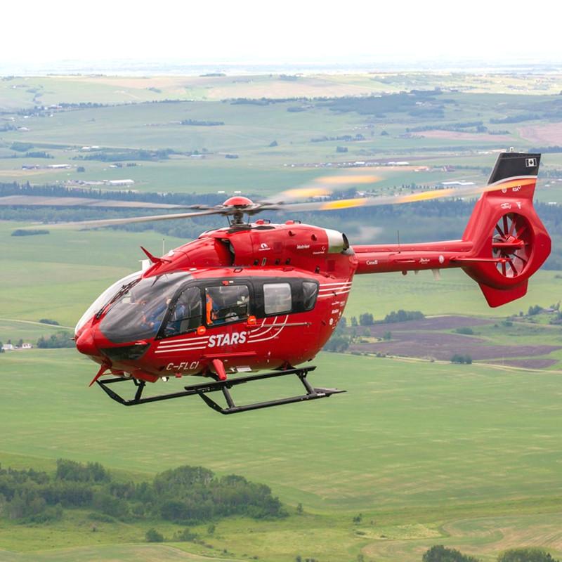 New helipad for Oilfields General Hospital in Black Diamond