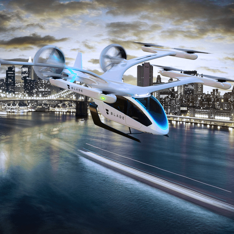 Eve to Deploy Electric Vertical Aircraft for Blade