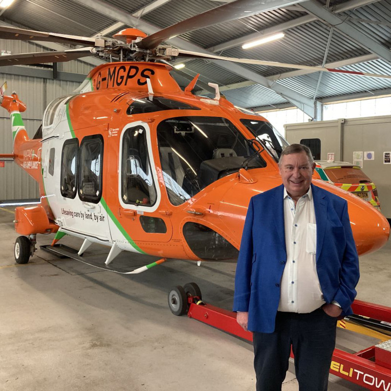 Magpas Air Ambulance appoints new Chairman