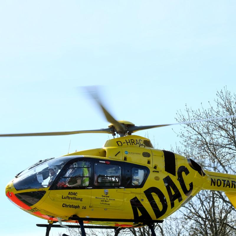 25 years of ADAC air rescue in Saarbrücken