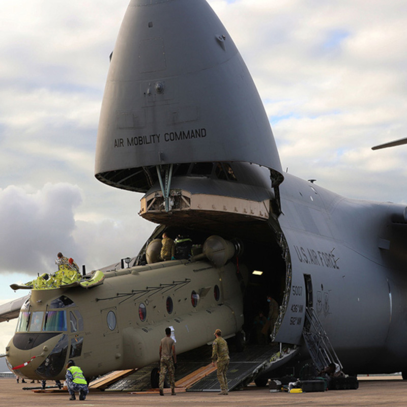 Australia takes delivery of two CH-47F Chinooks, with two more due 2022