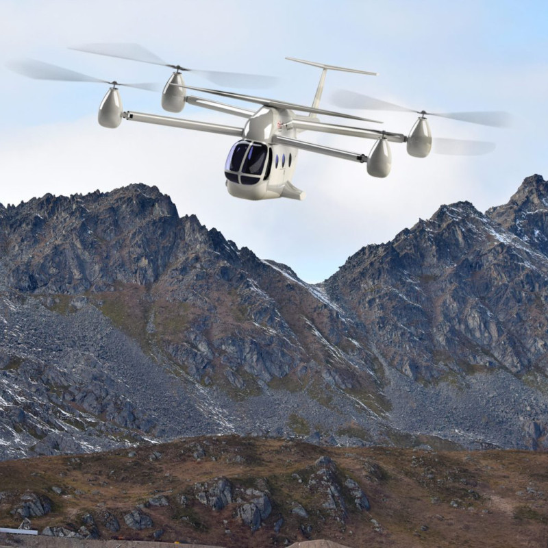 Rotor X Aircraft Enters The eVTOL Market