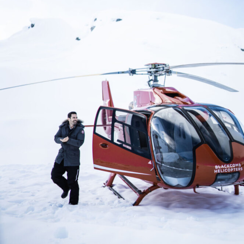 Vancouver hotel launches Ice Caves Heli Adventure