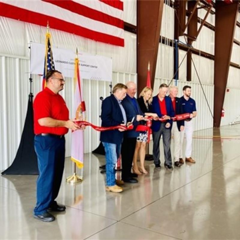 Leonardo Opens New Peter Prince Hangar