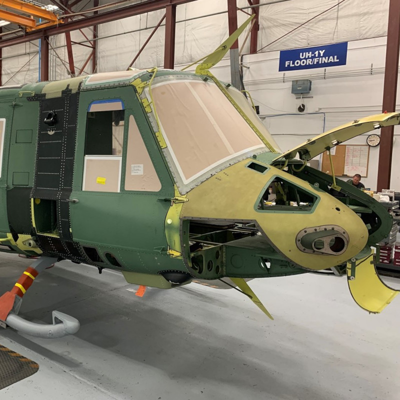 Bell Begins Manufacturing UH-1Y For First International Operator