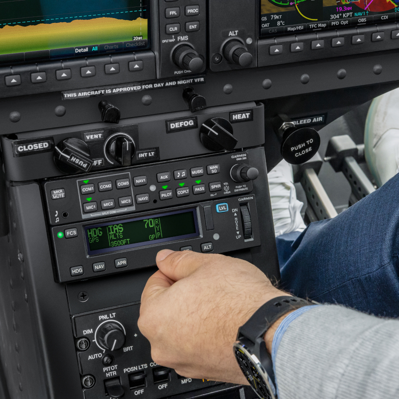 Garmin GFC500H flight control system certified on Bell 505