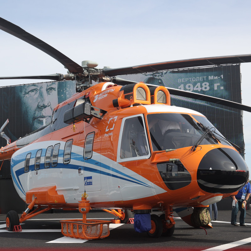 Gazprom and Russian Helicopters signed a cooperation agreement