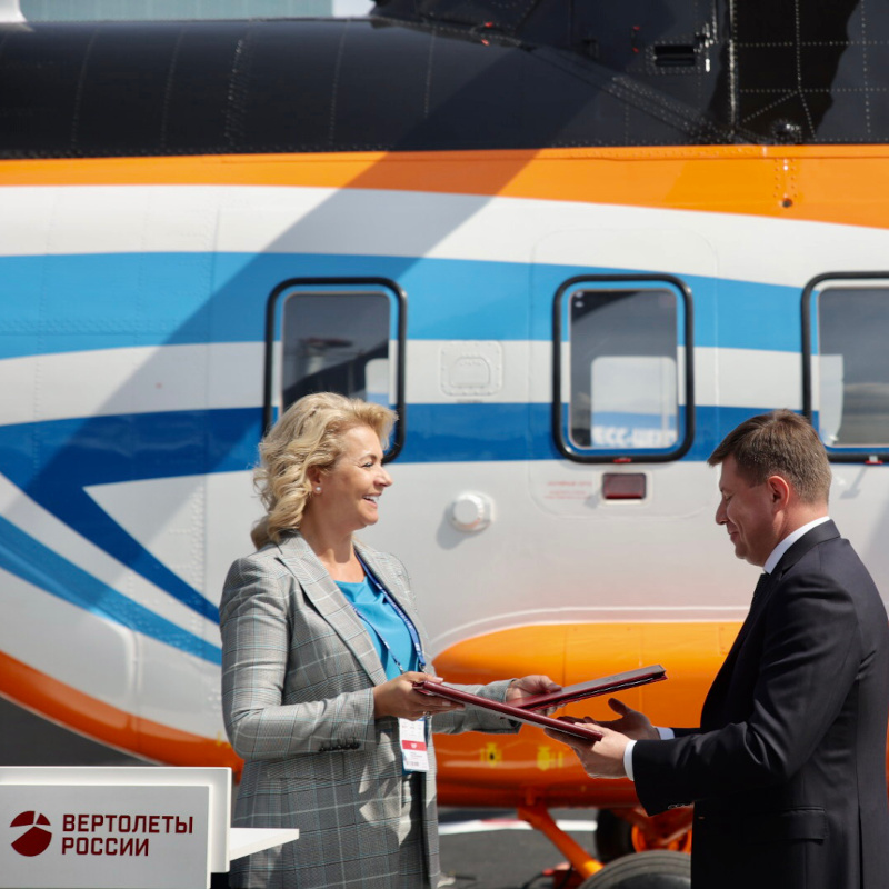 Russian Helicopters and Novikombank sign financing agreement
