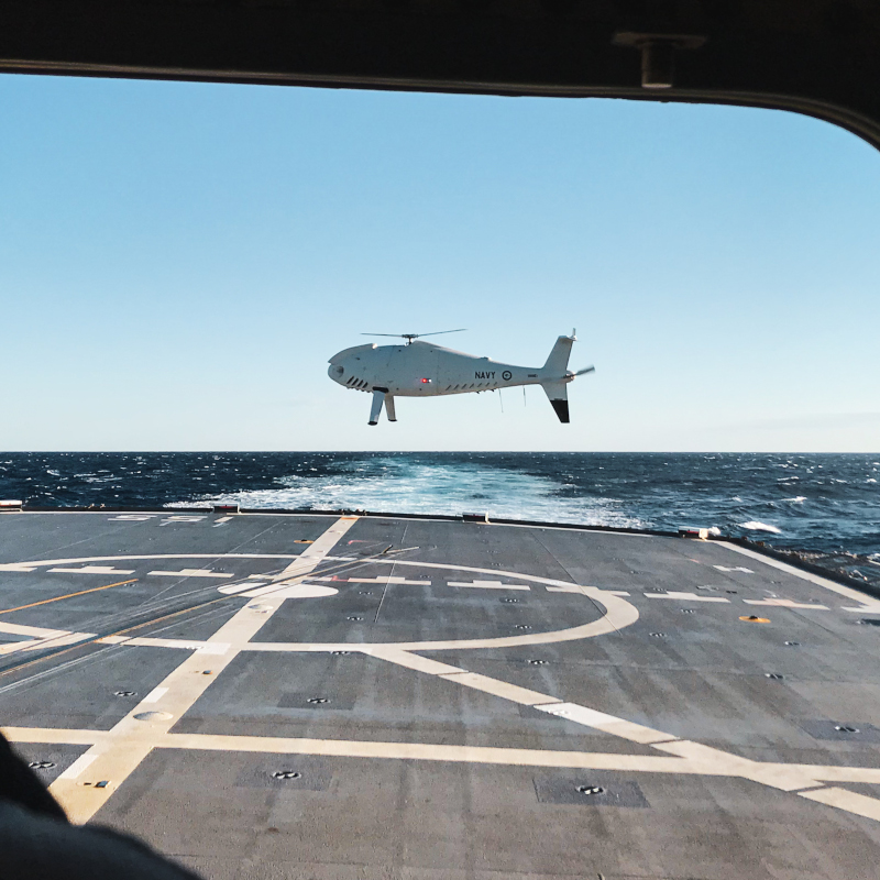 Royal Australian Navy extends Schiebel Camcopter contract