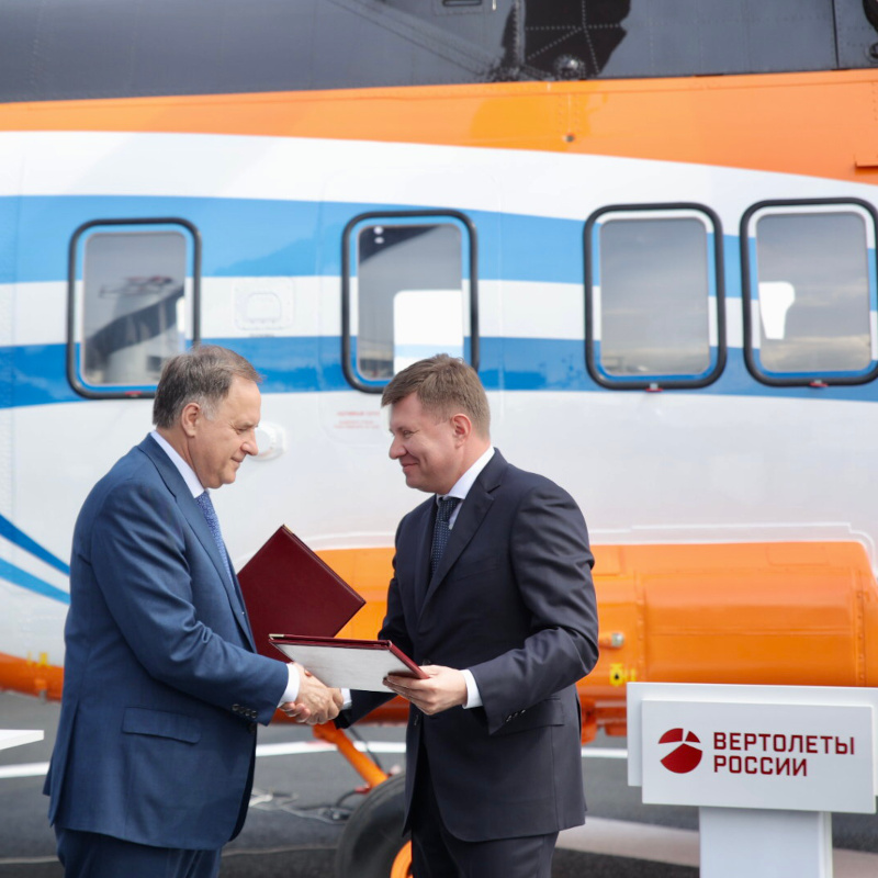 Russian Helicopters and VTB to cooperate  in the field of civil helicopter construction