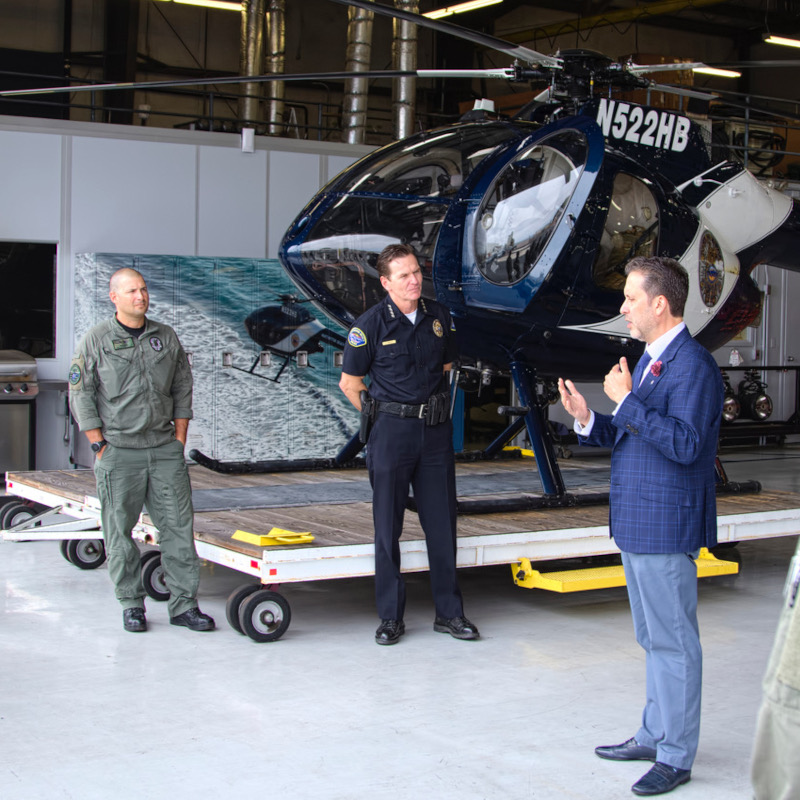 Huntington Beach Police to replace MD520N fleet with MD530Fs