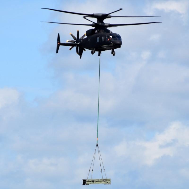 SB>1 Defiant demonstrates lift of 5,300lb