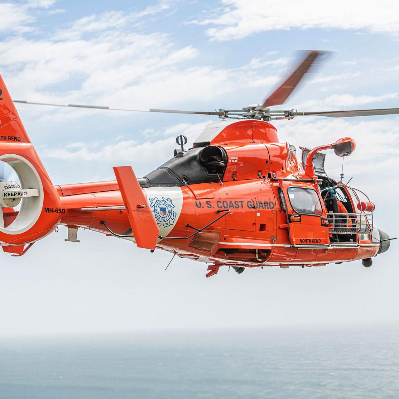 Airbus mark 40 year partnership with US Coast Guard