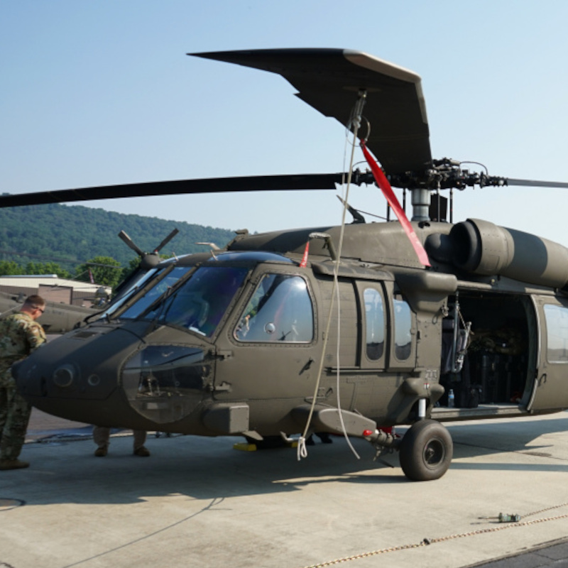 Pennsylvania National Guard receives first new UH-60Vs