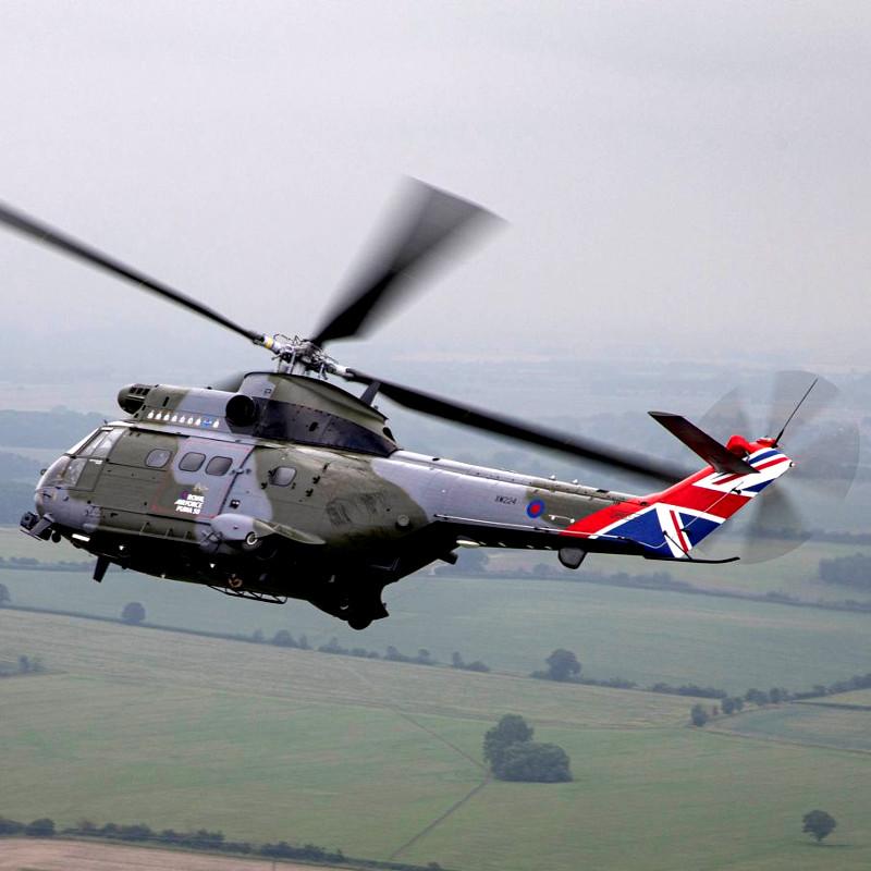 RAF unveils 50th Anniversary paint scheme for Puma