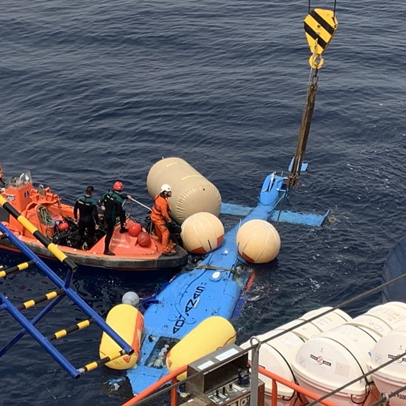 Two Spanish helicopters end up in the water on the same day