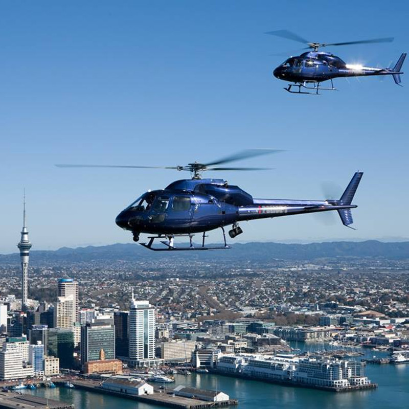 NZ Police AS355s find a new home