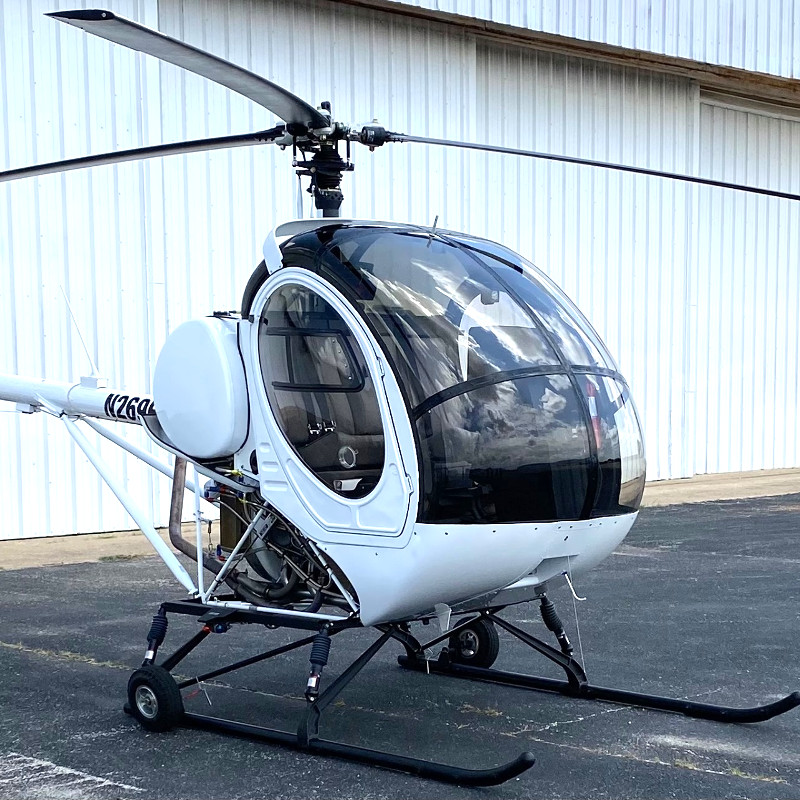 First Schweizer 300 ready for delivery after production gap