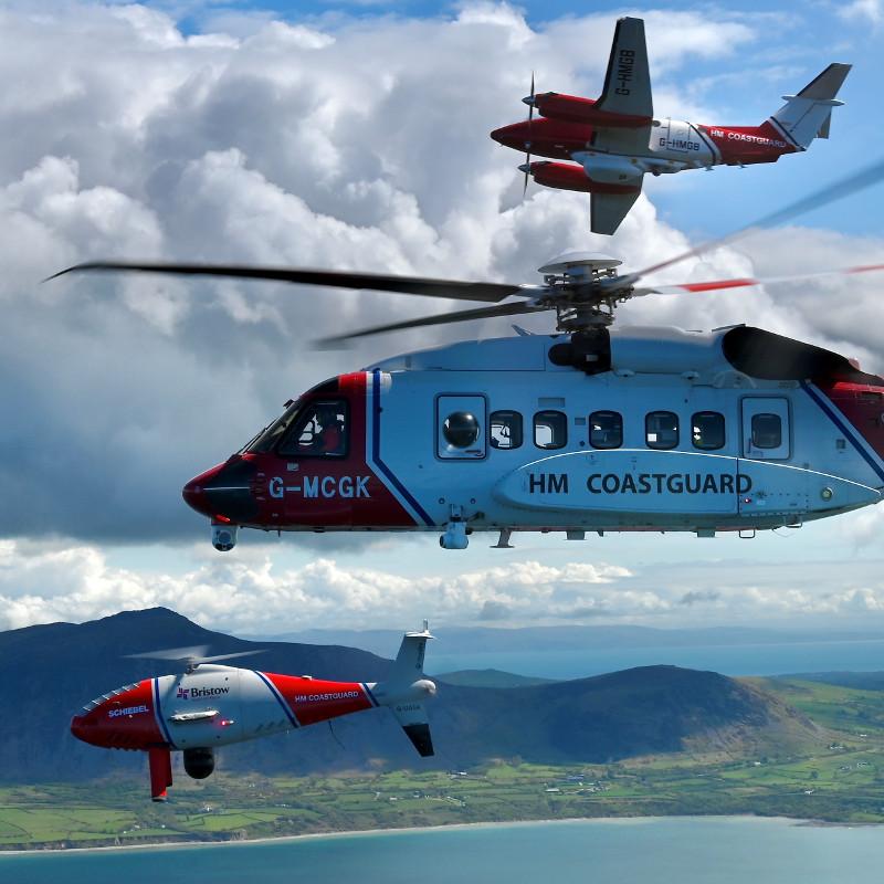 HM Coastguard SAR operations to go live with Schiebel UAS