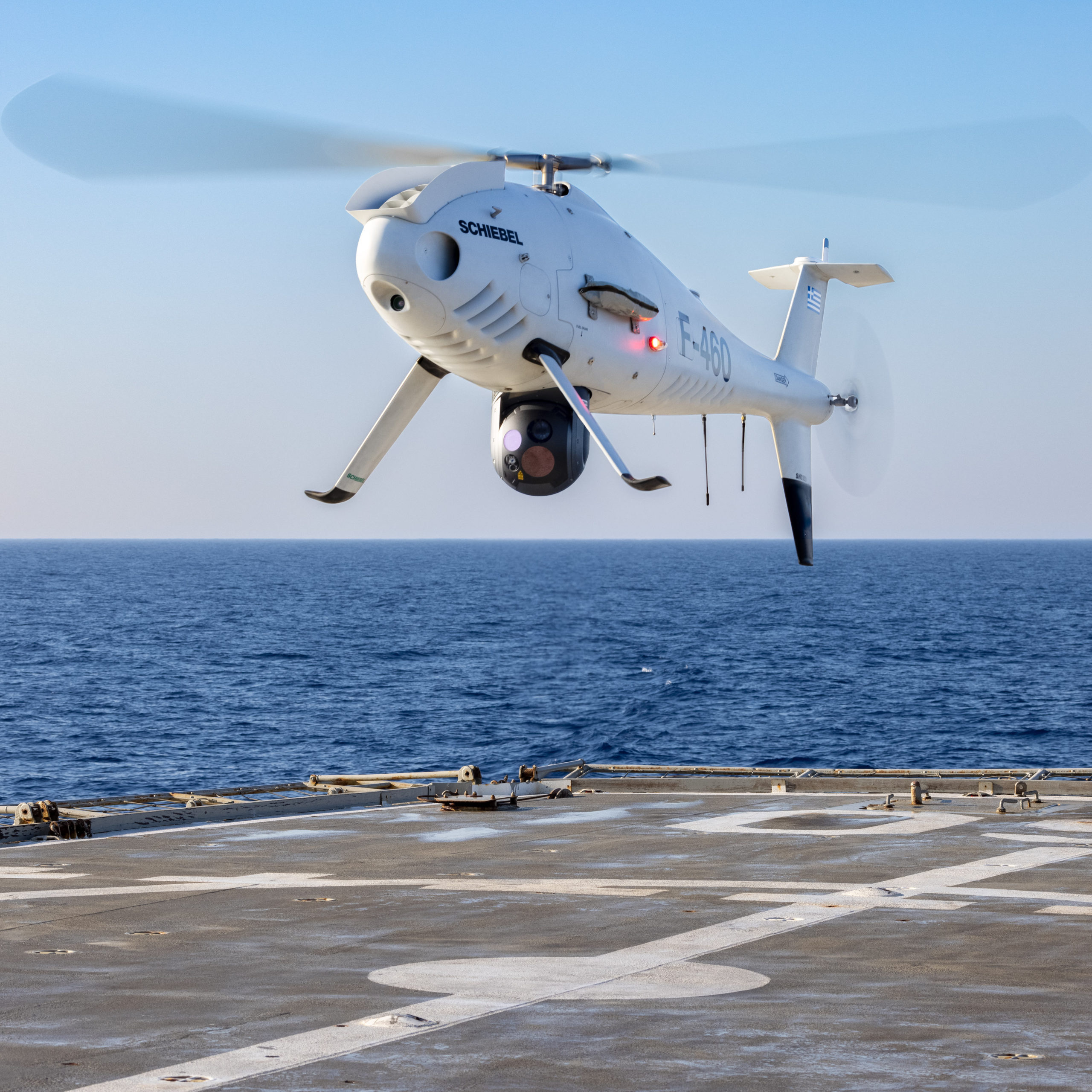 Schiebel Camcopter® S-100 Completes Trials for the Hellenic Navy