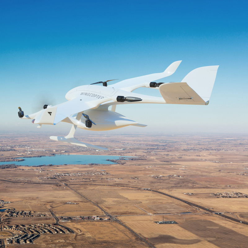 Air Methods to deploying fleets of Wingcopter drones