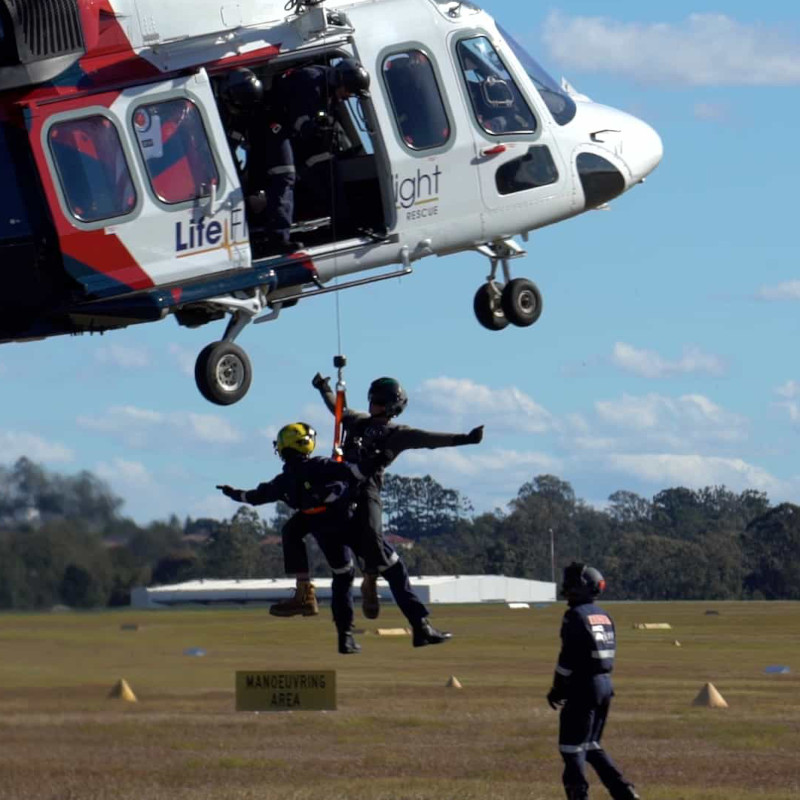 New RACQ LifeFlight Rescue doctors take to the skies of Queensland