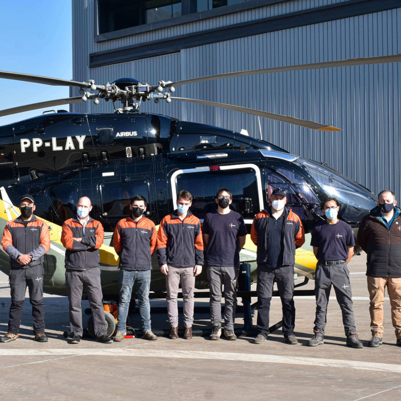 Second Airbus H145 arrives in Chile for Ecocopter