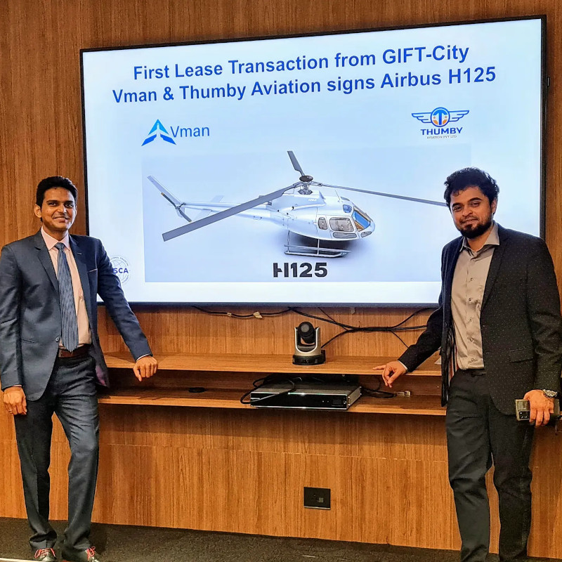 First Indian leasing company Vman Aviation Services orders Airbus H125