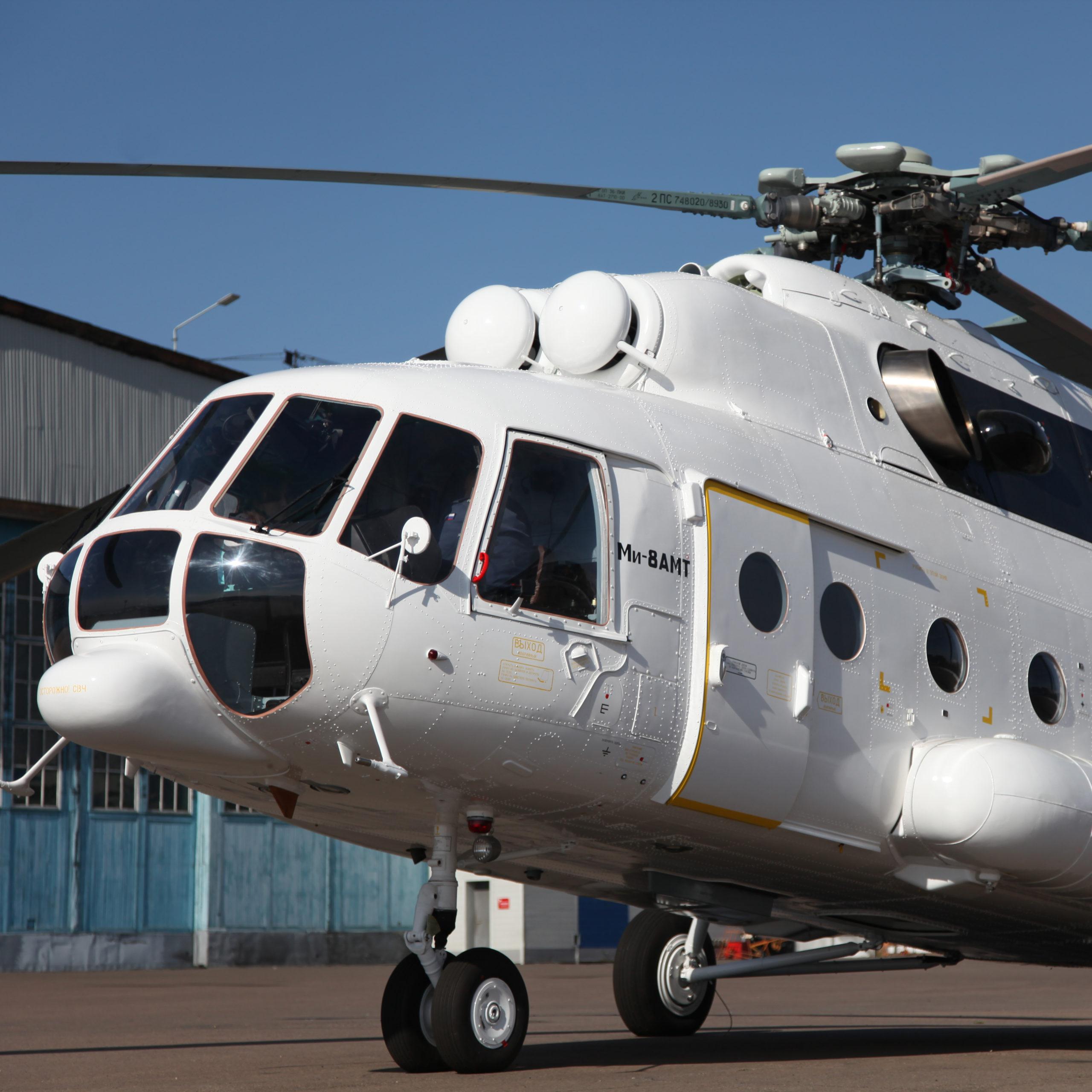 U-UAZ delivers Mi-8AMT to Kolyma Aviation